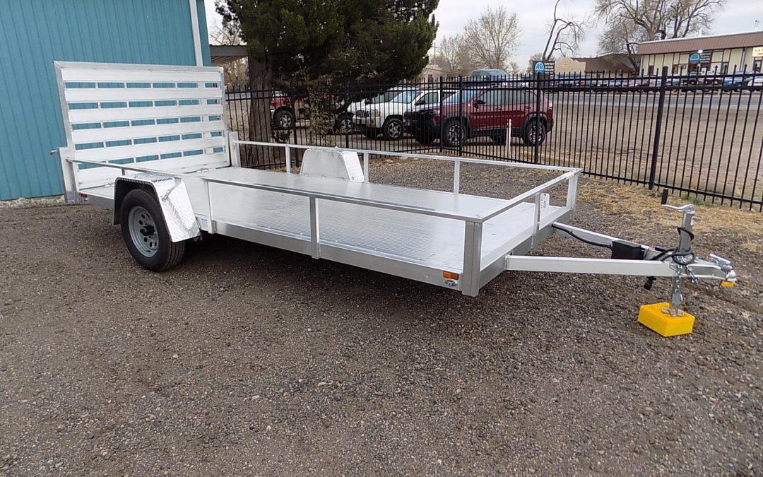 14 ft. Aluminum ATV/ Snowmobile Trailer   PRE-ORDER ONLY